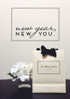 new year, new you. Brand Packaging, Packaging Design, Paper Bag Design, Candle Packaging, Hermes Perfume, Jo Malone, New You, Place Card Holders, Branding