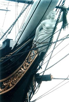 Love it. Ship figurehead.