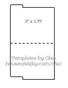 Teeny, Tiny File Folder Template | Template | Pinterest | File ...
