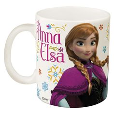 Enjoy Coffee With Elsa and Anna!   Mugs are microwave safe  Features your favorite princesses Anna and Elsa