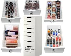 Sizing Guide: Available in 2 lengths - Fits the Ikea Alex 9 Drawer 52 cm - Fits the Ikea Alex 5 Drawer Please make sure you select the right size before checking out. Ikea Alex 9 Drawer: L X W X H 13 compartments rows) Ikea Alex 5 Drawer: L X W X 16 Ikea 9 Drawer, Ikea Drawer Dividers, Ikea Alex Drawers, Drawer Unit, Ikea Drawer Organizer, Makeup Drawer Dividers, Storage Organizers, Acrylic Organizer, Makeup Organiser Ikea