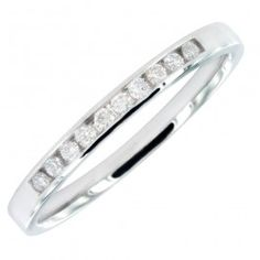 18ct white gold 15 points total of diamonds ring £389