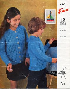childs / childrens sweater cardigan knitting pattern pdf DK jumper jacket DK light worsted 8ply 25-36 inch Instant download by coutureknitcrochet on Etsy