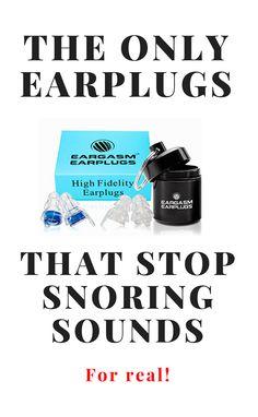 Snoring earplugs that work