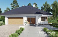 Projekt domu Selene IV G2, wizualizacja 1 Bungalow, Garden Design, House Plans, How To Plan, Outdoor Decor, Home Decor, Houses, Dreams, Arquitetura