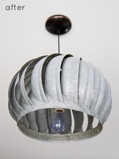 up close of the lights. simple, yet beautiful. my craft space could use some more lighting. ; ) #upcycle #lighting