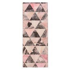 Stockholm yoga mat - pink