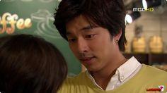 The Shop of Coffee Prince ♥ Gong Yoo as Choi Han-gyul ♥ Yoon Eun-hye as Go Eun-chan Gong Yoo Coffee Prince, Lee Sun, Live Action, Kdrama, Goong Yoo, Yoon Eun Hye, Yoo Gong, Kim Dong, Straight Guys
