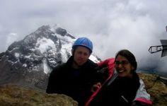 #Climbing to Illiniza North Volcano Summit in #Ecuador #Andes