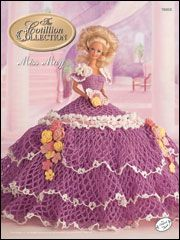 Bed Doll Collection - The Cotillion Collection - Miss May 1992 - Crochet Cotton Thread