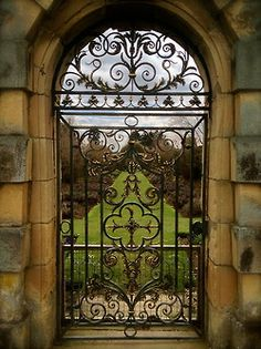 avoicethroughacloud: Castle Howard - a view into the gardens
