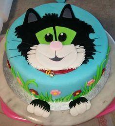 Postman Pat: Jess the Cat soto soto Rodriguez de Davies Yasin Creative Cake Decorating, Cake Decorating Techniques, Creative Cakes, Decorating Cakes, Postman Pat Cake, Cake Business, Birthday Cake, Birthday Ideas, Birthday Parties