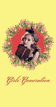 Girls' Generation SNSD Seohyun Lion Heart Lockscreen Phone Wallpaper