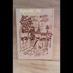 16x22cm fali kép. #pirography #fábaégetett #lány #párizs #falikép #csipriota_fa  #handmade #kézműves Lany, Tarot, Cover, Books, Instagram, Libros, Book, Book Illustrations, Libri