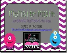 Valentine Math and a Monster FREEBIE!