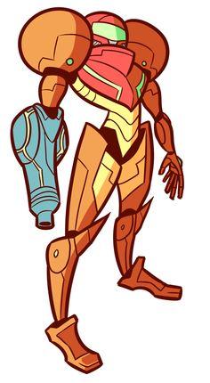 droolingdemon:  Metroid is my favorite Smash Bros robot.