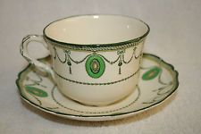 """Royal Doulton Countess Giant Tea Cup & Saucer. This set can be seen used by Dorcas Lane in """"Lark Rise to Candleford """"."""