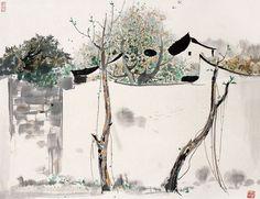 Wu Guanzhong(吴冠中 Chinese, 1919-2010)