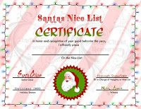 Share the love ms office templates and printables for valentines santa nice list certificate santa christmas letter from santa templatefree yelopaper Images