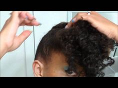 {85} ~*DATE NIGHT HAIR*~ VERY easy Updo (Natural hair style)