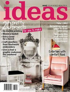 Get your digital subscription/issue of Ideas-July 2014 Magazine on Magzter and enjoy reading the magazine on iPad, iPhone, Android devices and the web. Wallpaper Crafts, French Bench, New Cake, Marble Print, Easy Projects, Creative Inspiration, Make It Simple, Make It Yourself, Ideas Magazine