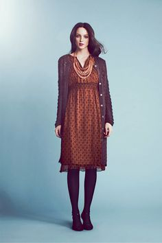 Love the colors and layering. Chocolate and coffee browns. Noa Noa Collections | Noa Noa Henley