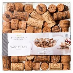 Vase Filler Cork Stopper Natural Threshold™