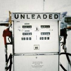 Old School Gas - When I was little, I always remember the Gas Attendant asking 'Leaded or Unleaded'. The answer would always depend on what car we were in.