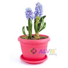 Ghiveci flori Hobby rosu 30 cm