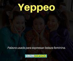 Yeppeo (예뻐)- Bonito, linda English Study, Learn English, Korean Slang, Language Dictionary, Korean English, Korean Lessons, Drama Memes, Korean Words, Language Study