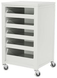 Martha Stewart Living Craft Space Cart with Pull-Out Trays