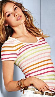 2 for $40 or 2 for $50 Tees: Short-sleeves, Tanks, Henleys & Long-sleeves at Victoria's Secret