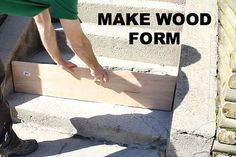Diy concrete step Exterior Cement Step Repair Get Your Curb Appeal Back In One Day How To Cement Steps Cement Home Improvement Projects Pinterest Cement Step Repair Get Your Curb Appeal Back In One Day How To
