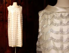 I love this 60's wedding dress, love that era (50's-60's), reminds me of my own gown!  <3