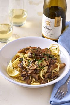 Here's my proposition to make boneless, skinless chicken breasts a whole lot more interesting: Get them drunk. These chicken breasts are swimming in a fragrant shallot and tarragon wine sauce and paired with earthy mushrooms for a winning dinner any night of the week. Drunken Chicken and Mushrooms — Wine and Dine