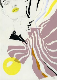 The Only Magic Left is Art — Fashion Illustrations by Cecilia Carlstedt Only...