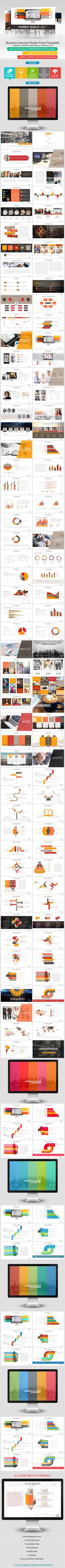 Business Session Power Point Presentation (PowerPoint Templates)