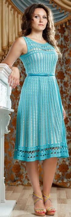 88215adce4f41ced330f7d173f8ab6a6.jpg (396×1207)   crochet dress   Pinterest