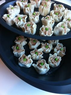 Some yum Dim sum in the #Thermomix varoma