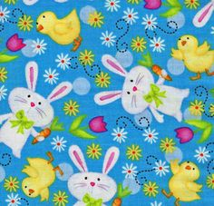 Hippity Hop Chick, Just Hatched by Quilting Treasures designed by Victoria Hutto