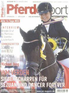 "Pferde Sport international 18/2014  ""WM Verden """