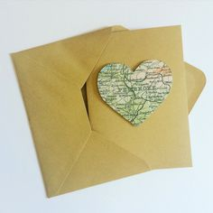 Our Heart Map Greetings Cards are perfect for any occasion💚 #Pembroke #Wales #uk custom #bespoke #map #vintage #card #greetingcards #special #wedding #invite #savethedate #weddinginvitation #green #studio #office #design #art #paperart #shop #store #etsy