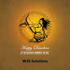 May good triumph over evil, May you achieve the strength and courage to  follow the path of success.  HappyDussehra!  W2SSolutions be2b708275