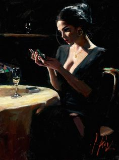 Fabian Perez art gallery, committed to offering great prices to the public. We specialize in Fabian Perez original paintings and limited edition prints. Fabian Perez, Woman Painting, Figure Painting, Sexy Painting, Jack Vettriano, Pulp Art, Poses, Portrait Art, Erotic Art