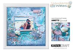Mystical imagery destined to have you planning your next adventure. Enjoy this layout by the Kaisercraft Design Team!