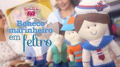 DIY - Boneco Marinheiro em Feltro (Vanessa Iaquinto)