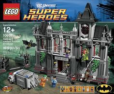 LEGO 10937 Batman™ - Arkham Asylum Breakout / LEGO Blog