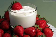 Strawberries and Cream Dip