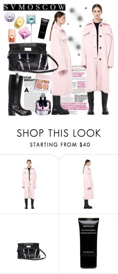 """""""SV MOSCOW 1"""" by gaby-mil ❤ liked on Polyvore featuring Marni, Yves Saint Laurent, Maison Margiela, Givenchy, A.F. Vandevorst, coat, marni and svmoscow"""