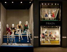 Prada windows 2014 Spring, London window display
